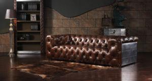 Living Room Retro Aluminum Sofas pictures & photos
