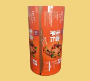 Colorful Laminated Flat Pouch Film for Snacks Package pictures & photos