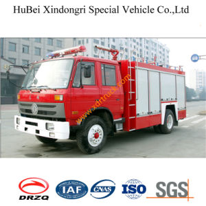 6ton Dongfeng Water Ladder Fire Truck Euro2 pictures & photos
