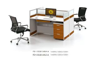 High Quality Single Set Office Workstation Cubicle pictures & photos