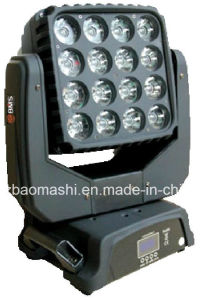 16*15W 4in1 LED Matrix Beam Moving Head Light pictures & photos