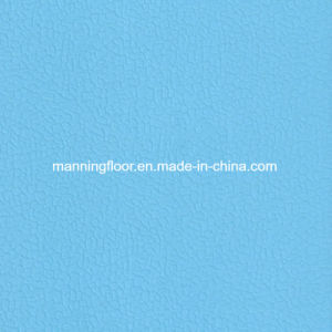 High Quality Soft Indoor Light Blue Handball Vinyl Sports Floor 6.5mm pictures & photos