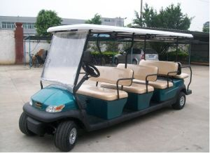 11 Seaters Electric Airport Shuttle Bus Car pictures & photos