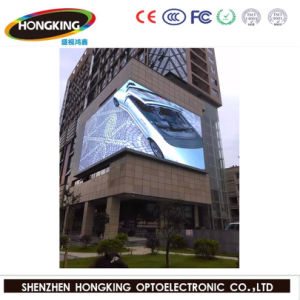 P6 Outdoor Full Color Advertising LED Screen Display pictures & photos