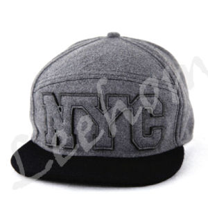 Jersey Knitted Heather Grey Snapback Caps&Hats pictures & photos