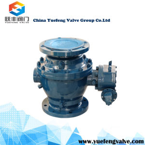 2PC Forged Trunnion Ball Valve pictures & photos