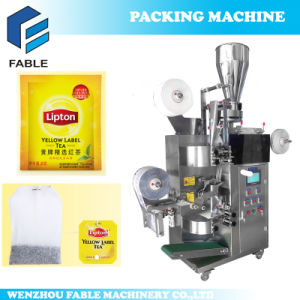 Inner & Outer Bag Electric Comminuted Tea Filling Packaging Machine pictures & photos