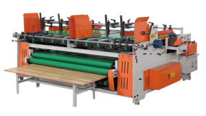 Semi-Automatic Corrugated Carton Box Folder Gluer pictures & photos
