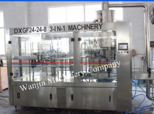 Full Automatic Gas Beverage Soft Drinks Filling Machinery pictures & photos