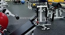 Wearproof Nontoxic! Gym Rubber Flooring Mat Rubber Tile with Various Colour