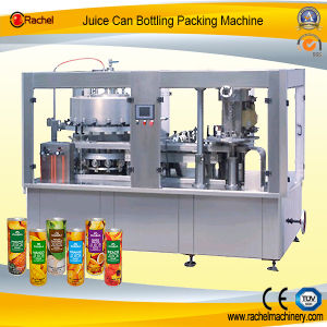 Automatic Canned Liquid Beverage Filling Sealing Machine pictures & photos