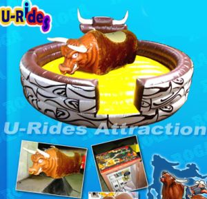 Hot selling inflatable Sports angry Mechanical Bull Ride for Sale pictures & photos
