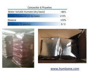 Humizone Humic Acid Fertilizer: Potassium Humate 80% Powder (H080-P) pictures & photos