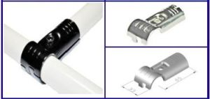 Chrome Coated Metal Joint for Lean Coated Tupe pictures & photos