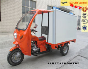 250cc Motor Cabin Tricycle with Thermal Insulation Canopy pictures & photos