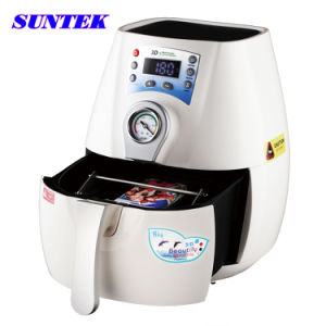 Suntek Mini 3D Subliamtion Heat Transfer Machine pictures & photos