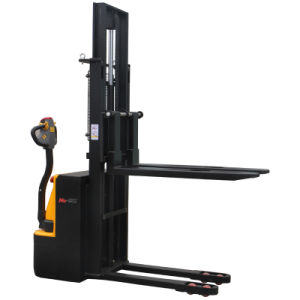 Walkie Full Electric Forklift Stacker 1ton and 1.2ton Capacity pictures & photos