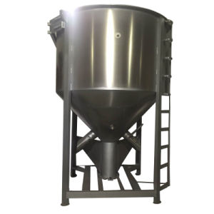 Best Selling Verticle Plastic Mixer with Heating Function Optional pictures & photos