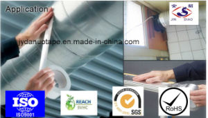 Pipe Wrapping Heat Insulation Aluminium Foil Tape pictures & photos