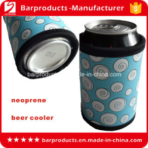 Custom Printing Neoprene Single Beer Bottle Cooler