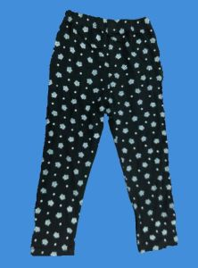 Cotton/Polyester Girl Pants with Flower Printed for Autumn (LP004) pictures & photos