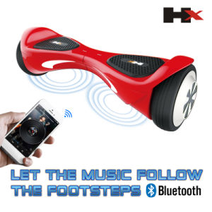 Bluetooth Music Ce FCC, RoHS Approved Balancing Scooter 6.5inch Hoverboard