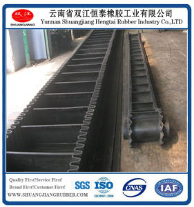 Corrugated Sidewall Rubber Belt Conveying Belt, pictures & photos