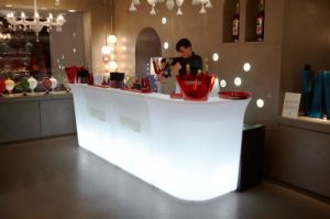 Bar Furniture Illuminated LED Corner Bar Counter pictures & photos