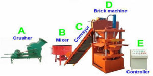 Sy1-10 Interlocking Clay Lego Brick Moulding Machines for Sale pictures & photos