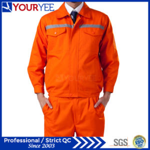 Affordable Safety Workwear with Reflective Tape (YMU121) pictures & photos