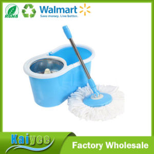 Blue and Pink 360 Magic Spin Mop with Retractable Handle pictures & photos