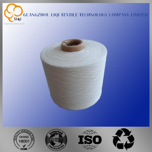 100% Raw White Polyester Yarn pictures & photos