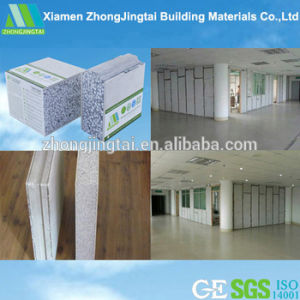 75mm Impact Resistance EPS Cement Sandwich Wall Panel for Interior Wall pictures & photos