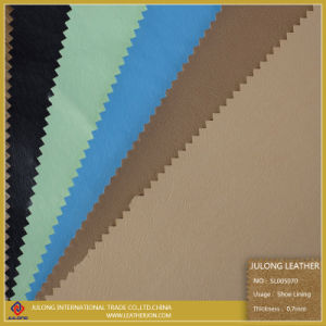 Basical PU Leather for Shoe Lining (SL005070) pictures & photos