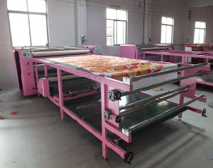 Fy-Rhtm420*1200 Model Roll to Roll Sublimation Heat Transfer Machine for Textile Digital Printing pictures & photos