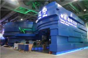 Blue Color Aluminium Honeycomb Panels for Shanhai Expo Exhibition Decoration pictures & photos