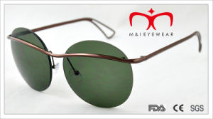 2015 Latest Fashion Style Round Frame Sunglasses (MI215) pictures & photos