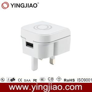 5V 2.1A 10W White DC USB Charger with CE pictures & photos