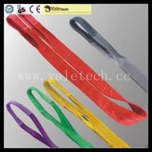 Red Flat Web Lifting Sling, One Way Nylon Web Sling pictures & photos