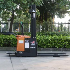 Factory Price Battery Operated Powered 1.6t Electric Stacker (CDD16) pictures & photos