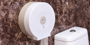 Jumbo Toilet Paper Holder with Plastic Material (KW-628) pictures & photos