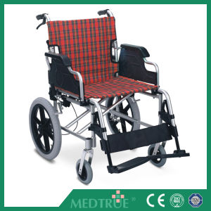 CE/ISO Approved Hot Sale Cheap Medical Aluminum Wheel Chair (MT05030030) pictures & photos