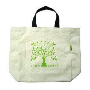 Promotional Custom Shoulder Cotton Shopping Tote Bag (LJ-364)