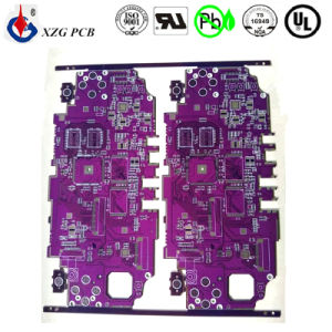 6layer HDI PCB with Carbon Oil and Special Mask pictures & photos