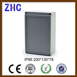 200*130*78 Waterproof IP66 Aluminium Sheet Metal Enclosure pictures & photos