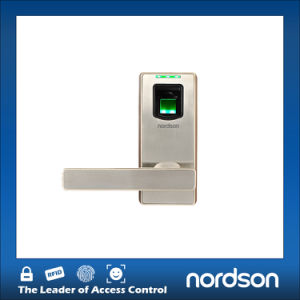 American Standard ANSI Digital Fingerprint Door Lock with Switch Handle pictures & photos