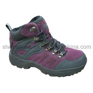 Seude Leather Climbing Sports Women Shoes