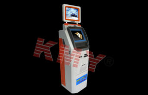 Ticket Vending Touch Screen Kiosk with Bill Acceptor and Card Reader pictures & photos