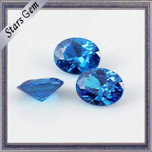10X12mm Big Size Blue Excellent Diamond Cut Zirconia pictures & photos