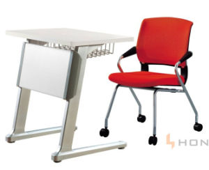 Modern Simple Design Single School Training Table Conference Chair pictures & photos